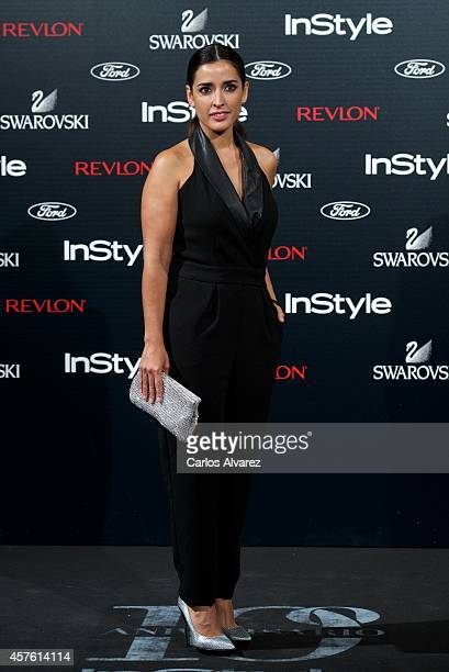 Spanish actress Inma Cuesta attends the In Style Magazine 10th Anniversary party at the Melia Fenix Hotel on October 21 2014 in Madrid Spain