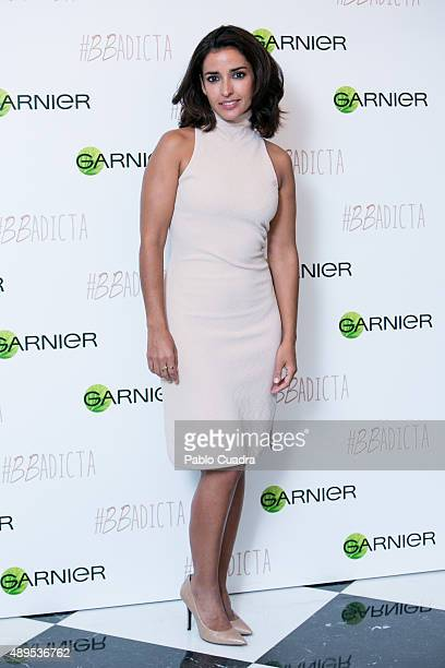 Spanish actress Inma Cuesta presents the new 'BB Cream' by Garnier at Unico Hotel on September 22 2015 in Madrid Spain