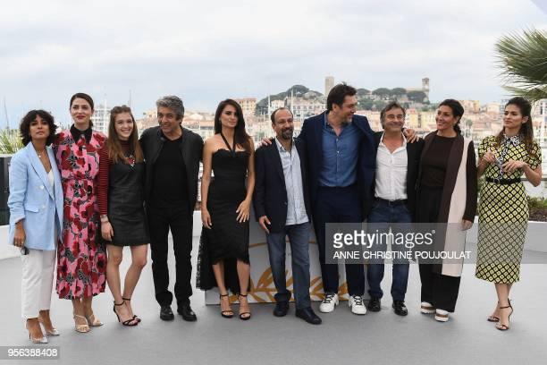Spanish actress Inma Cuesta Spanish actress Barbara Lennie Spanish actress Carla Campra Argentinian actor Ricardo Darin Spanish actress Penelope Cruz...