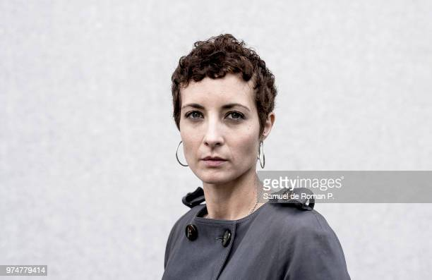 Spanish actress Irene Anula poses during a portrait session on June 11, 2018 in Madrid, Spain.