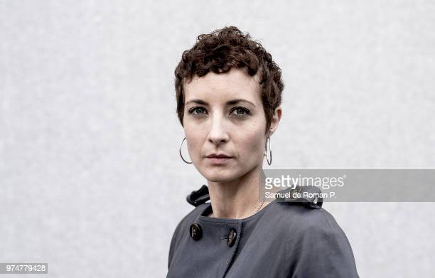 Spanish actress Irene Anula poses during a portrait session on June 11 2018 in Madrid Spain