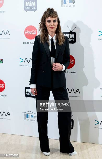 Spanish actress Irene Arcos attends 'MiM' awards 2019 at Hotel Puerta de America on December 17, 2019 in Madrid, Spain.