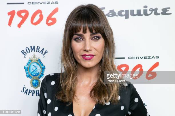 Spanish actress Irene Arcos attends the 'Hombres Esquire' 2019 awards at Kapital Theater on October 10 2019 in Madrid Spain