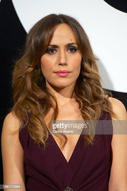 Spanish actress Irene Montala attends the GQ Men Of The Year award 2012 at the Ritz Hotel on November 19 2012 in Madrid Spain
