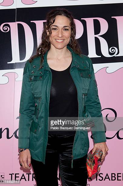 Spanish actress Isabel Serrano attends 'La Gran Depresion' premiere at Infanta Isabel Theatre on May 19, 2011 in Madrid, Spain.