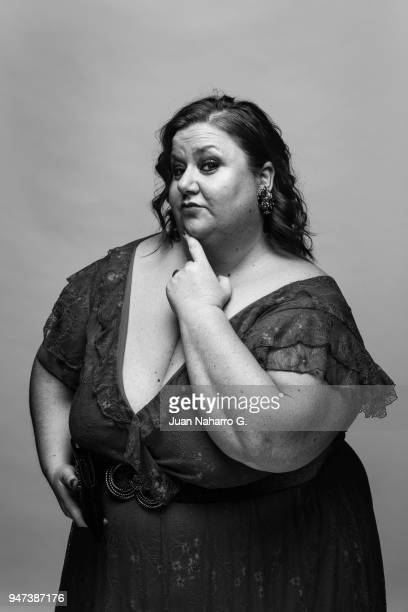 Spanish actress Itziar Castro is photographed on self assignment during 21th Malaga Film Festival 2018 on April 14 2018 in Malaga Spain
