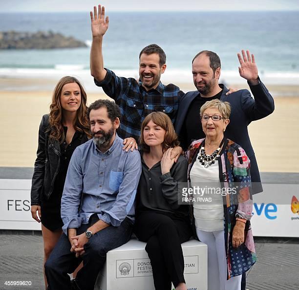 Spanish actress Itziar Ituno Spanish film director Jose Mari Goenaga Spanish actor Josean Bengoetxea Spanish film director Jon Garano Spanish actress...
