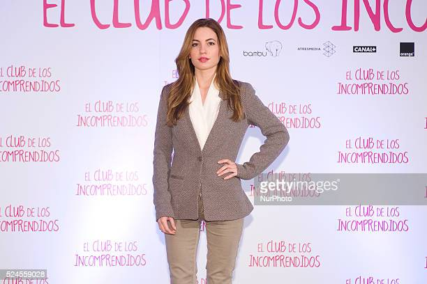 Spanish actress Ivana Baquero attends 'El Club de los Incomprendidos' photocall at the ME Hotel on December 16 2014 in Madrid Spain Photo Oscar...
