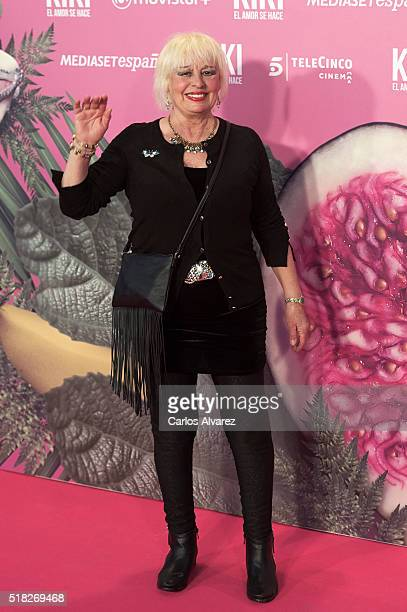 Spanish actress Josele Roman attends Kiki El Amor Se Hace premiere at the Capitol premiere on March 30 2016 in Madrid Spain