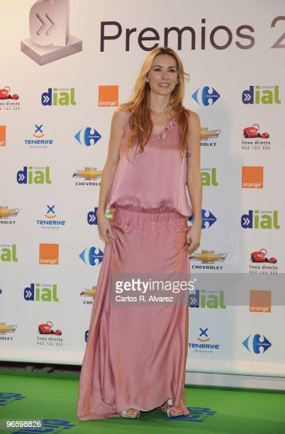 Spanish actress Kira Miro attends the ''Cadena Dial'' 2010 awards at the Tenerife Auditorium on February 11 2010 in Tenerife Spain