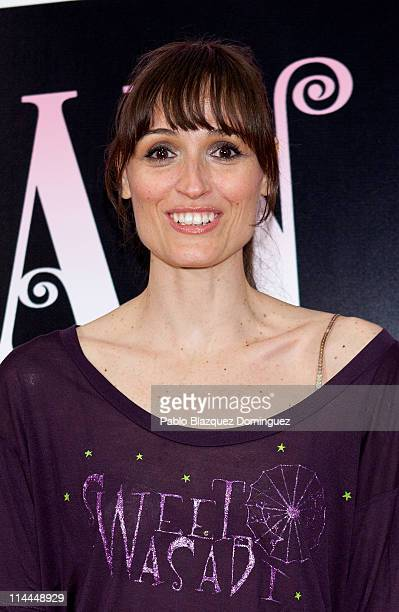 Spanish actress Laura Pamplona attends 'La Gran Depresion' premiere at Infanta Isabel Theatre on May 19 2011 in Madrid Spain