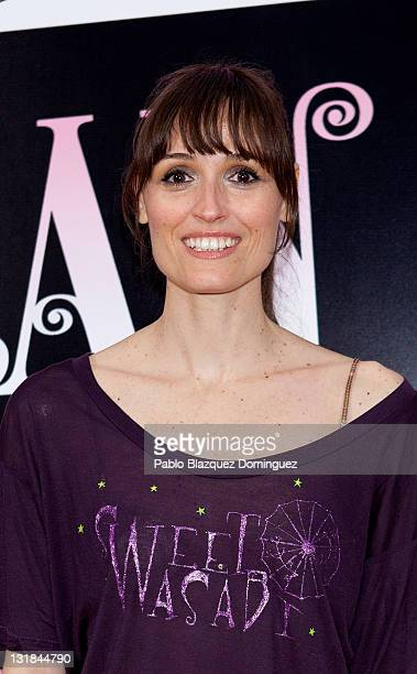 Spanish actress Laura Pamplona attends 'La Gran Depresion' premiere at Infanta Isabel Theatre on May 19, 2011 in Madrid, Spain.