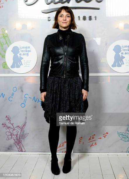 Spanish actress Leonor Watling attends during Kiehl's Since 1851 Celebrates 'Redondea Sonrisas' Charity Project on January 30, 2020 in Madrid, Spain.