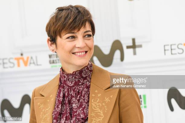 Spanish actress Leonor Watling attends 'Nasdrovia' photocall at Palacio de Congresos Europa during the FesTVal 2020 on September 04, 2020 in...