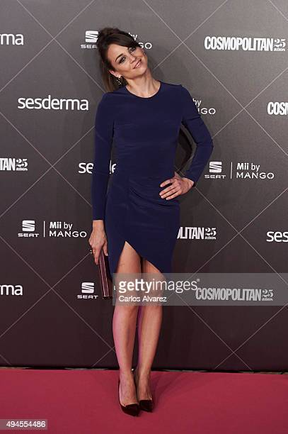 Spanish actress Leonor Watling attends the VIII Cosmopolitan Fun Fearless Female Awards at the Ritz hotel on October 27 2015 in Madrid Spain