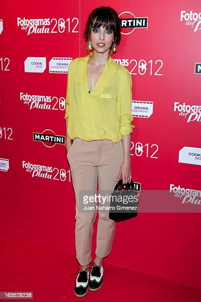Spanish actress Leticia Dolera attends Fotogramas awards 2013 at the Joy Eslava Club on March 11 2013 in Madrid Spain