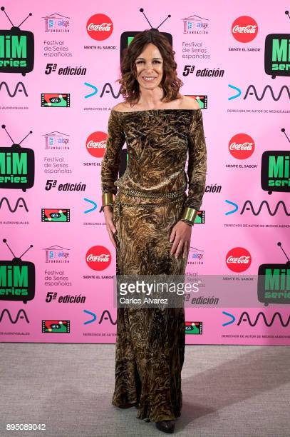 Spanish actress Lydia Bosch attends the MIM Series Awards 2017 at the ME Hotel on December 18 2017 in Madrid Spain