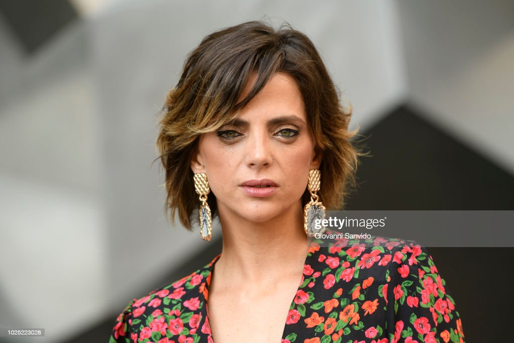 Spanish actress Macarena Gomez attends 'En Las Estrellas' photocall at Cines Princesa on August 30, 2018 in Madrid, Spain.