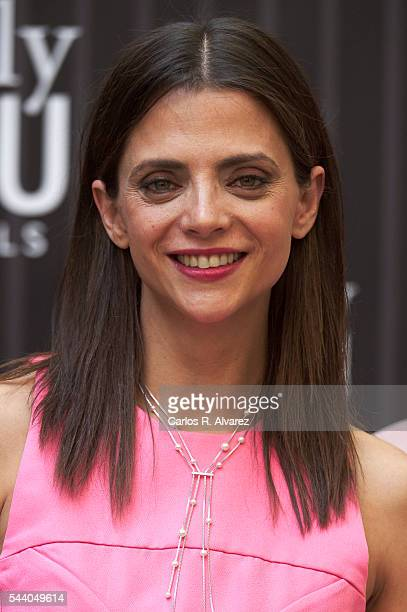 Spanish actress Macarena Gomez attends Pieles photocall at the Only You Hotel on July 1 2016 in Madrid Spain