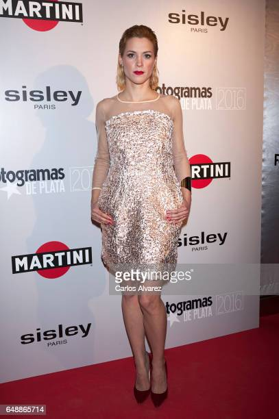 Spanish actress Maggie Civantos attends the Fotogramas Magazine cinema awards 2017 at the Joy Eslava Club on March 6 2017 in Madrid Spain