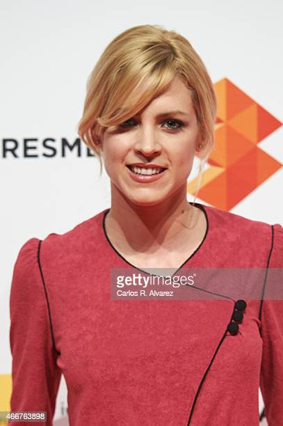 Spanish actress Maggie Civantos attends the Malaga Film Festival cocktail presentation at Circulo de Bellas Artes on March 18 2015 in Madrid Spain