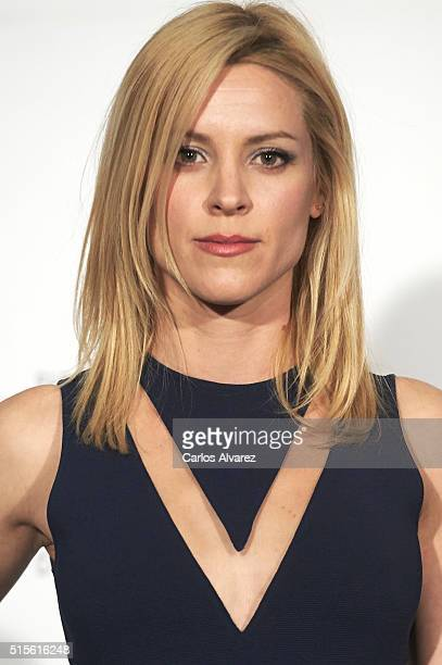 Spanish actress Maggie Civantos attends the Union de Actores awards 25th anniversary at the Circo Price on March 14 2016 in Madrid Spain