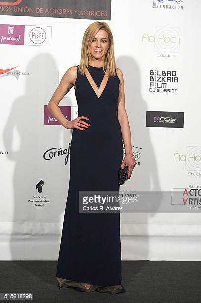 Spanish actress Maggie Civantos attends the Union de Actores awards 25th anniversary at the Circo Price on March 14, 2016 in Madrid, Spain.