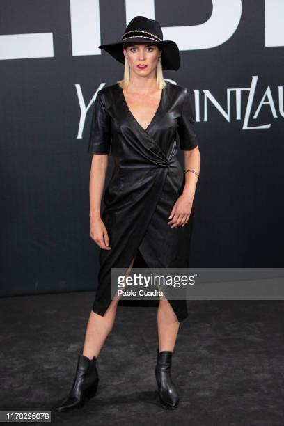 Spanish actress Maggie Civantos attends the Yves Saint Laurent fragrance 'Libre' presentation on September 30 2019 in Madrid Spain