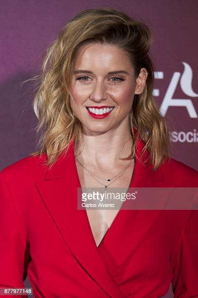 Spanish actress Manuela Velles attends the 'Vogue Joyas' awards 2017 at the Santona Palace on November 23 2017 in Madrid Spain