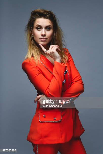Spanish actress Manuela Velles is photographed on self assignment during 21th Malaga Film Festival 2018 on April 20 2018 in Malaga Spain