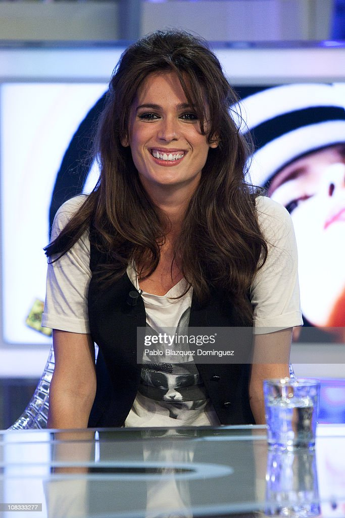 Mar Saura Attends 'El Hormiguero' Tv Show
