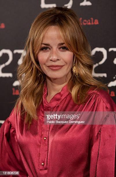Spanish actress Maria Adanez attends '23F' Premiere at Capitol Cinema on February 23 2011 in Madrid Spain