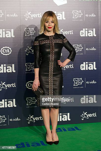 Spanish actress Maria Adanez attends the Cadena Dial 2013 awards red carpet at the Miguel Delibes auditorium on March 7 2014 in Valladolid Spain