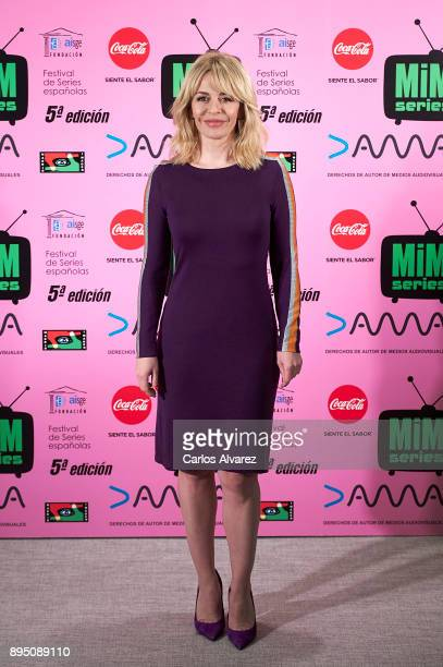 Spanish actress Maria Adanez attends the MIM Series Awards 2017 at the ME Hotel on December 18 2017 in Madrid Spain