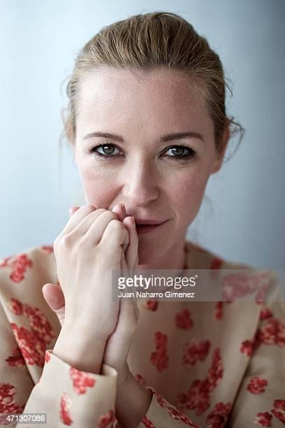 Spanish actress Maria Esteve poses during the 18th Malaga Spanish Film Festival at AC Malaga Palacio Hotel on April 25 2015 in Malaga Spain