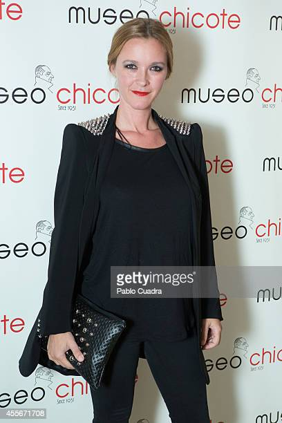 Spanish actress Maria Estevez attends Chicote Opening Season Party at 'Museo Chicote' on September 18 2014 in Madrid Spain