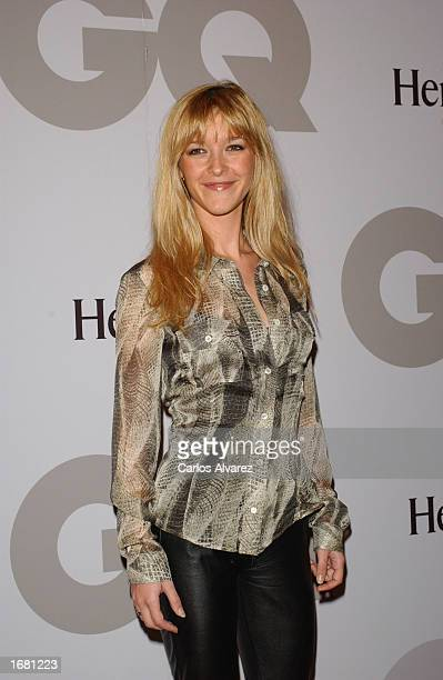 Spanish actress Maria Estevez attends GQ Magazine Men of Year 2002 Awards December 10 2002 at Palace Hotel in Madrid Spain