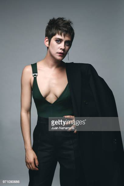 Spanish actress Maria Leon is photographed on self assignment during 21th Malaga Film Festival 2018 on April 19 2018 in Malaga Spain