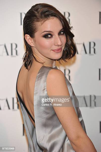 Spanish actress Maria Valverde attends Harper«s Bazaar presentation party at the Casino de Madrid on February 17 2010 in Madrid Spain