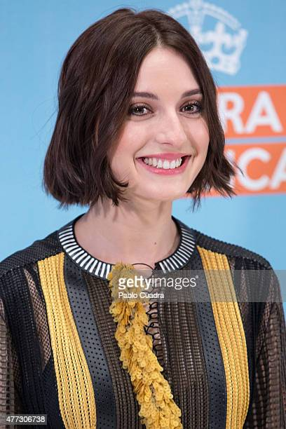 Spanish Actress Maria Valverde attends the 'Ahora o Nunca' photocall at Eurobuilding Hotel on June 16 2015 in Madrid Spain