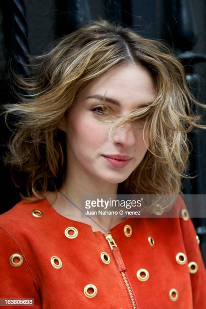 Spanish actress Maria Valverde poses in a portrait session on March 13 2013 in Madrid Spain