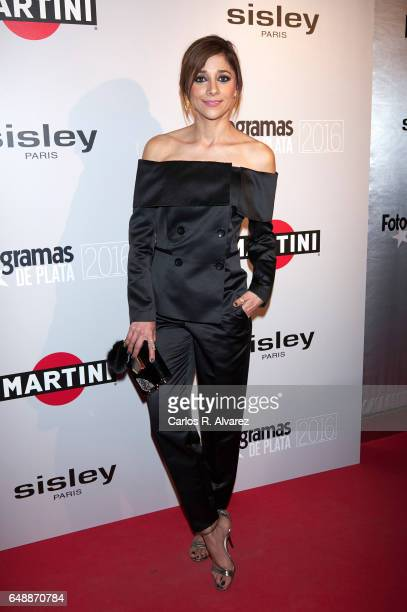 Spanish actress Mariam Hernandez attends the Fotogramas Magazine cinema awards 2017 at the Joy Eslava Club on March 6 2017 in Madrid Spain