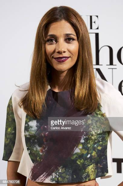 Spanish actress Mariam Hernandez attends the 'Vogue Who's On Next' party at the El Principito Club on May 18 2017 in Madrid Spain