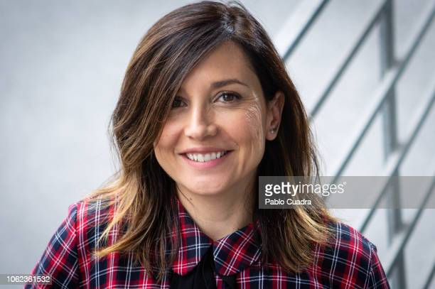 Spanish actress Marian Alvarez poses during a portrait session on November 16 2018 in Madrid Spain