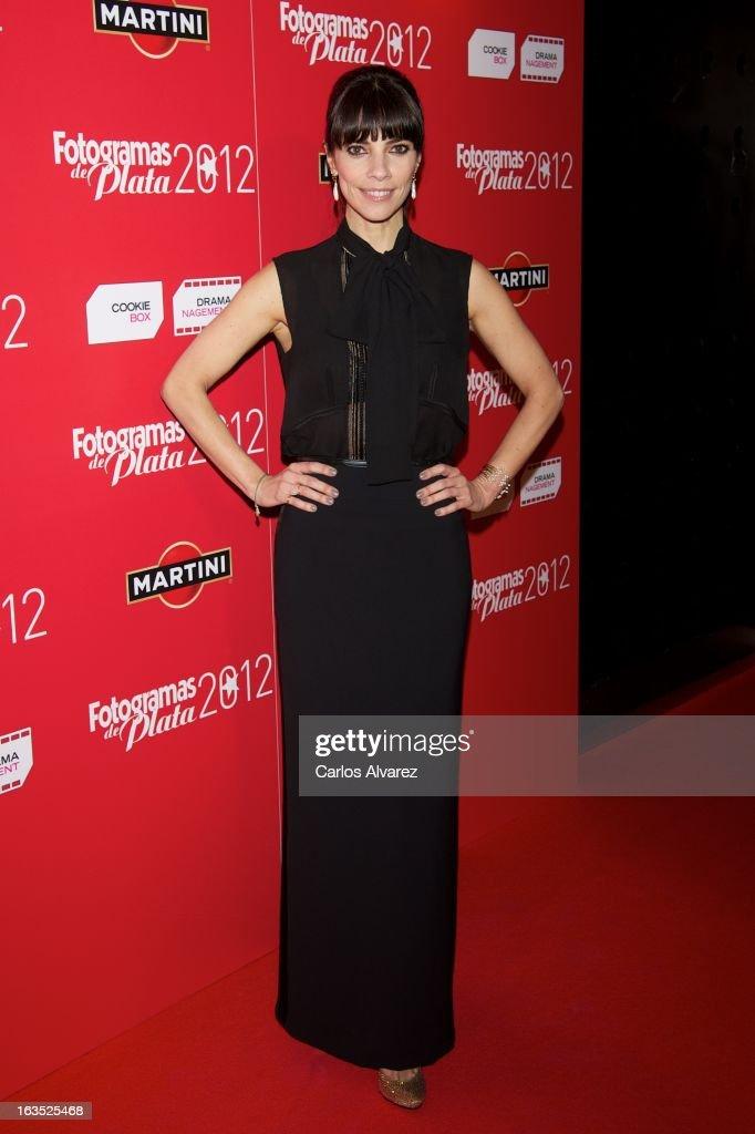 Spanish actress Maribel Verdu attends Fotogramas awards 2013 at the Joy Eslava Club on March 11, 2013 in Madrid, Spain.