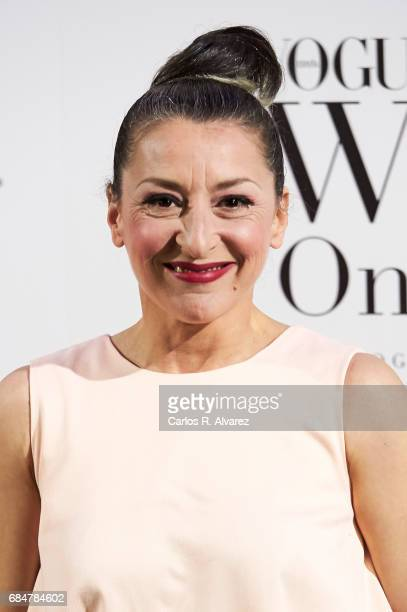 Spanish actress Mariola Fuentes attends the 'Vogue Who's On Next' party at the El Principito Club on May 18 2017 in Madrid Spain