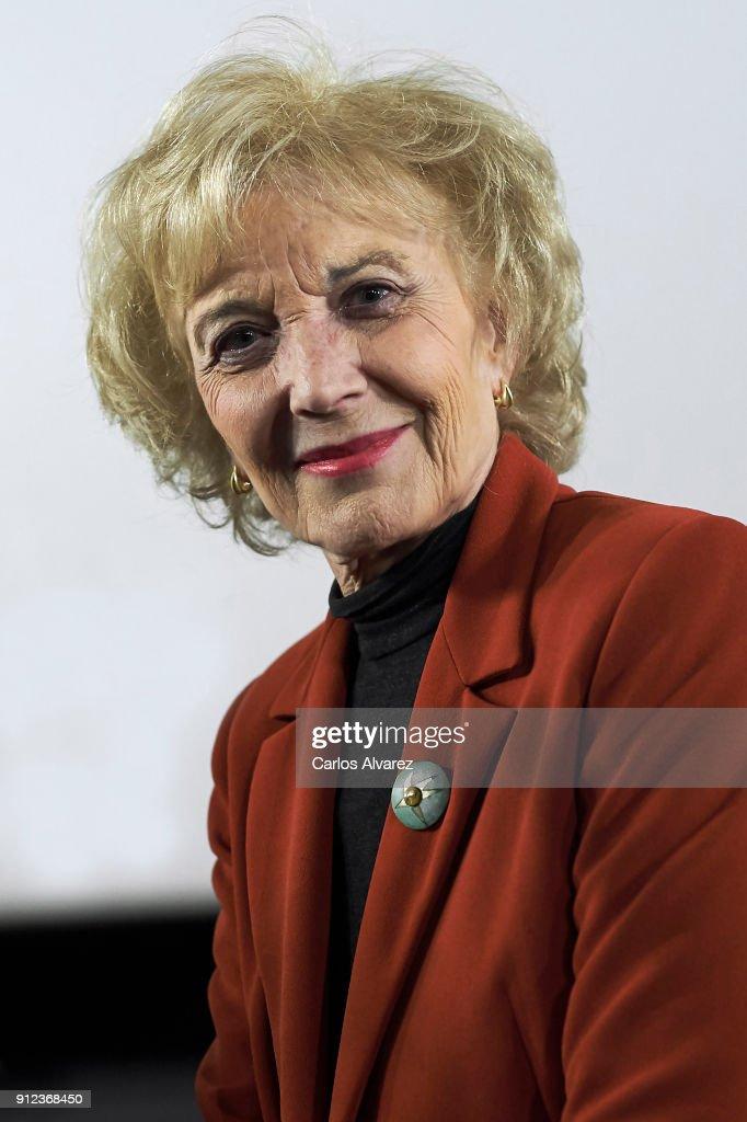 Marisa Paredes Colloquim Before Goya Cinema Awards