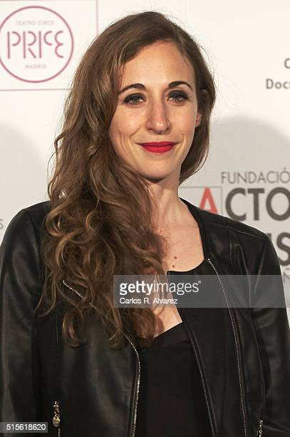 Spanish actress Marta Aledo attends the Union de Actores awards 25th anniversary at the Circo Price on March 14 2016 in Madrid Spain