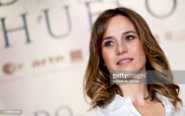 "Spanish actress Marta Etura attends ""Legado En los Huesos"" Madrid Photocall on November 25, 2019 in Madrid, Spain."