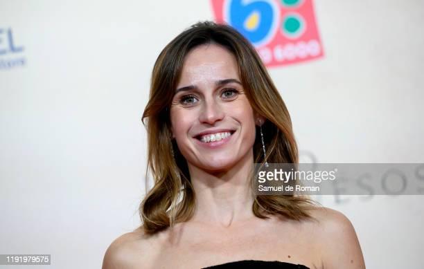 "Spanish actress Marta Etura attends ""Legado En Los Huesos"" Madrid Premiere on December 04, 2019 in Madrid, Spain."